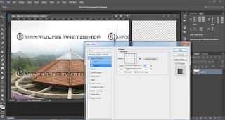 Tutorial Manipulasi Photoshop membuat Watermark Photos