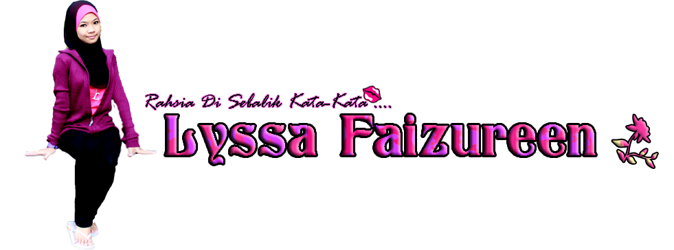 Blog Lyssa Faizureen | Header blog lyssa