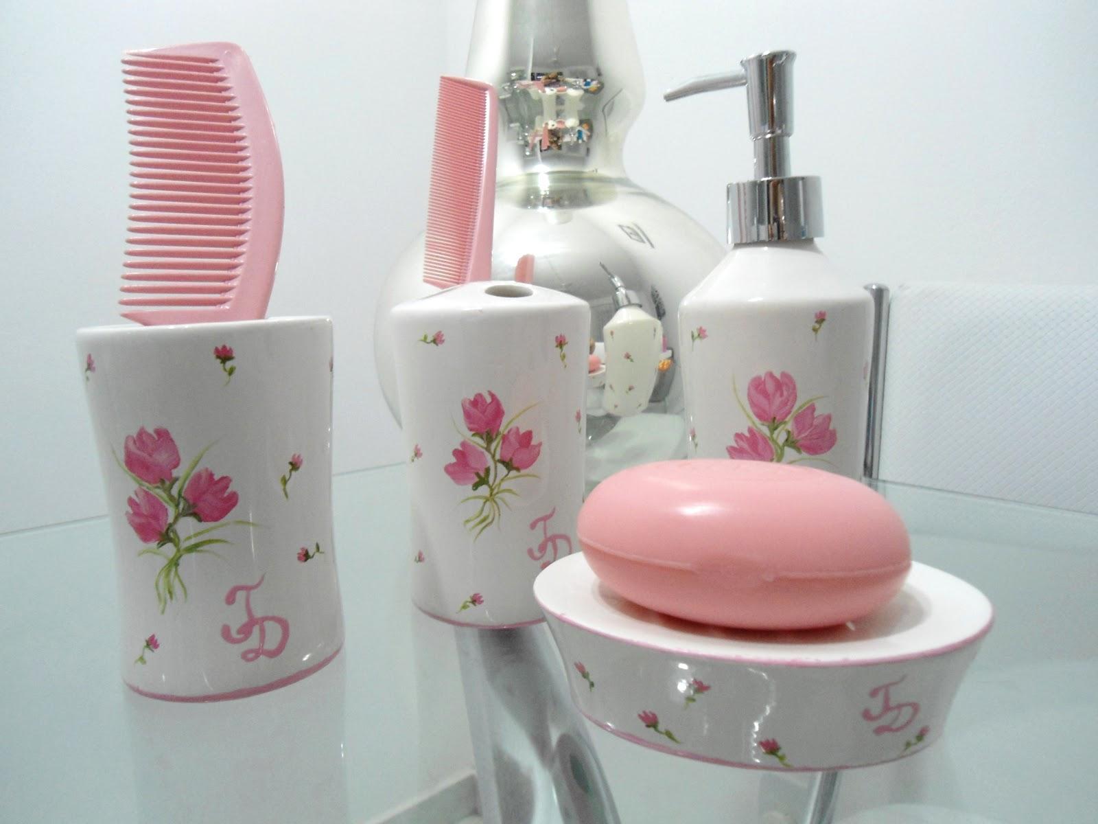 Personalizadas: Kit Toilet casamento rosa bebê rosa pink #76383A 1600x1200 Balança De Banheiro Rosa