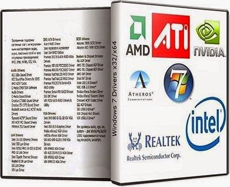драйвера пакет для windows 7
