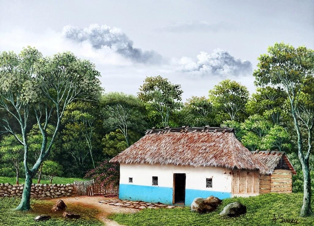 cuadros-de-paisajes-campesinos-colombianos