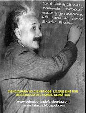 ¿Qué podríamos haberle enseñado a Einstein sobre el Cambio Climático?