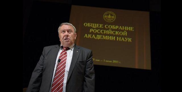 Vladimir Fortov, the President of the Russian Academy of Sciences. Credit: Russian Academy of Sciences