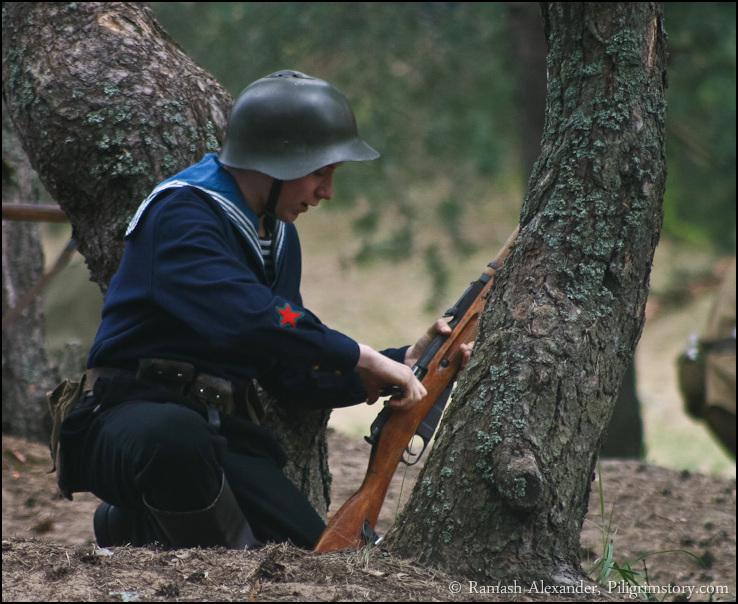 Сопротивление советских войск