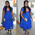 Bandhini Fancy Salwar in Blue