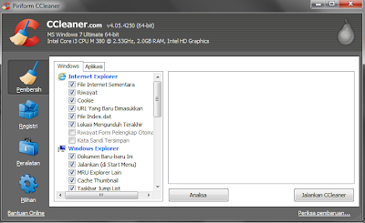 Download CCleaner Terbaru 4.05.4250 Gratis