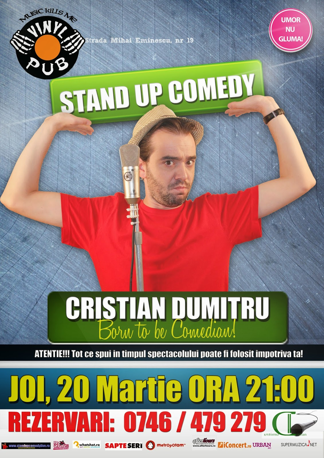 stand-up comedy braila joi cristian dumitru