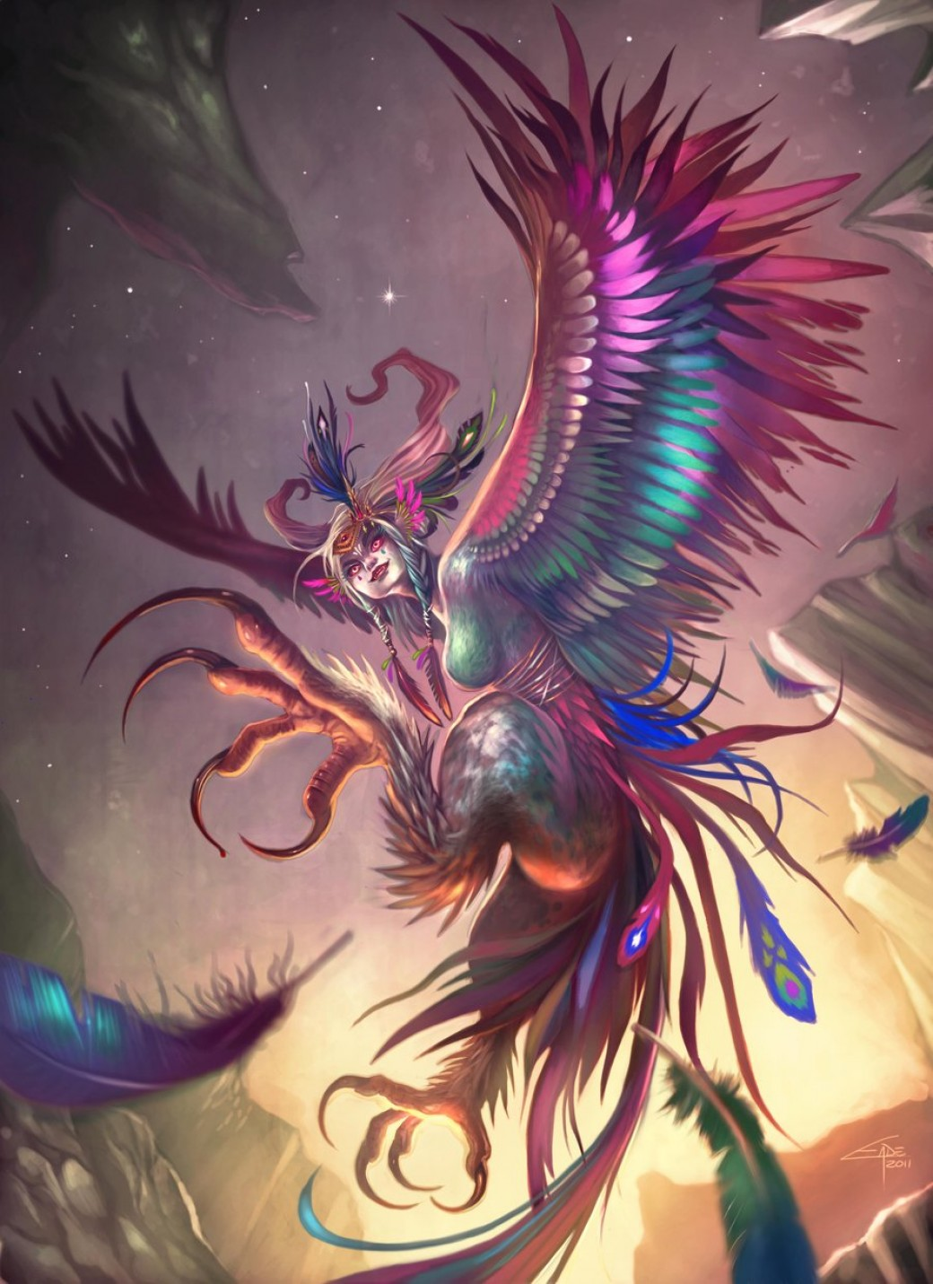 Harpy por Carolina-Eade