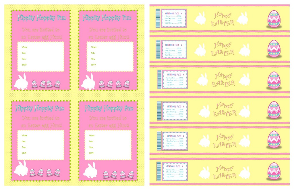 Party-Tales: ~Party Printable~ Easter Collection {Water Bottle