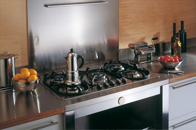 bertazzoni modular bs36conx 36 backsplash stainless steel