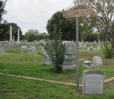 Robert E. Lee Walk, San Antonio Confederate Cemetery