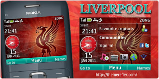 Liverpool C3 by ZB Download Tema Nokia C3 Gratis