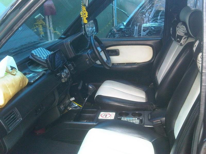 modifikasi interior mobil isuzu panther