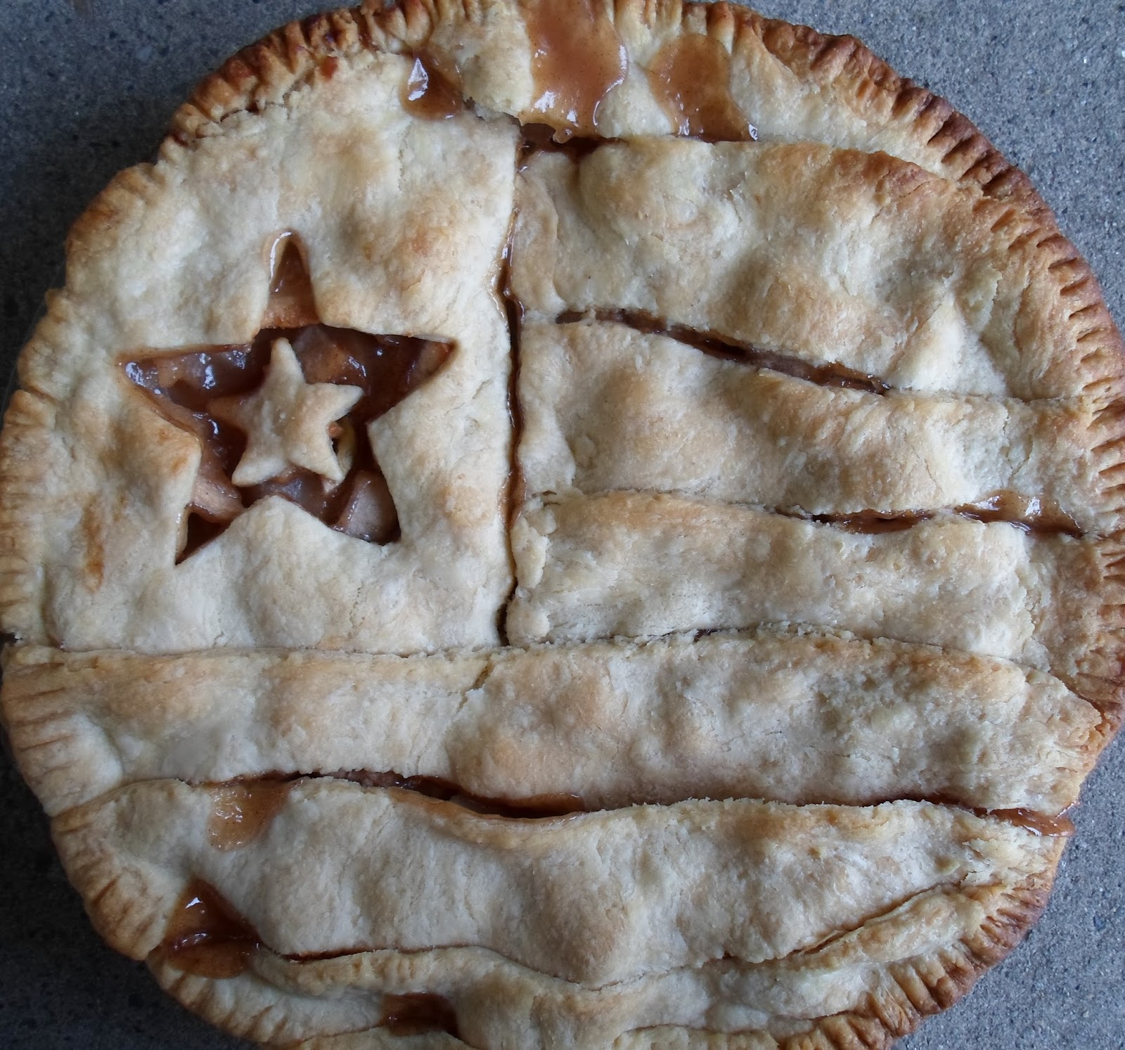 Happier than a pig in mud as american as apple pie for Apple pie decoration