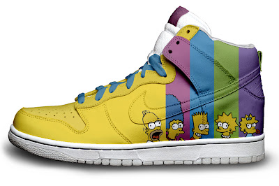 Zapatillas Nike The Simpsons