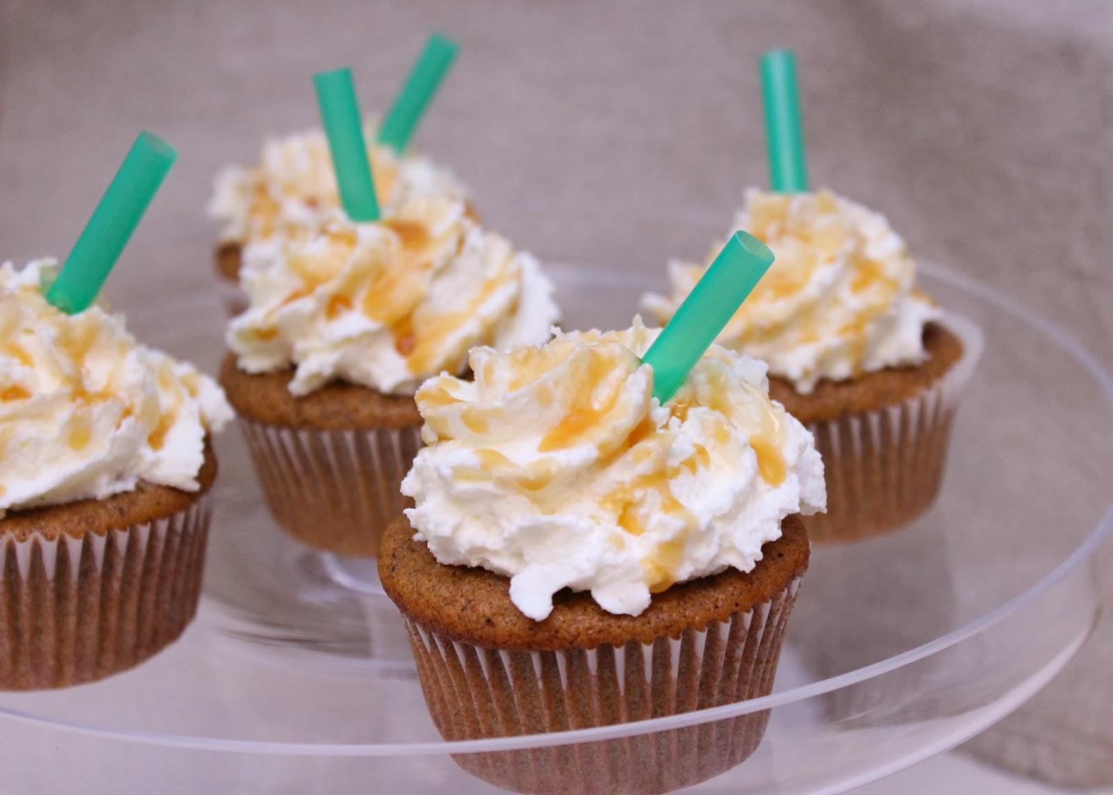 Pumpkin Latte Cupcakes