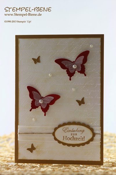 Hochzeitskarte; Hochzeitsideen; Simply Stars; Dankeskarte; Swap; Goodie; Bigz Top Note; Stampin' Up Hochzeitsgeschenk; Stempel-biene; Scrapbooking; Scrapbook; stampin' up; Stampin' up recklinghausen; Workshops; Mitternachtsblau; Morgenrot; www.stempel-biene.de; Karten basteln stampin' up, basteln stampin up, workshop stampin up, sammelbestellung, stempelparty, 1000 euro party, Stempel-biene Recklinghausen, stempelbiene recklinghausen, Anleitung Bigz L Knallbonbon, Hochzeitskarte, Hearts a Flutter;