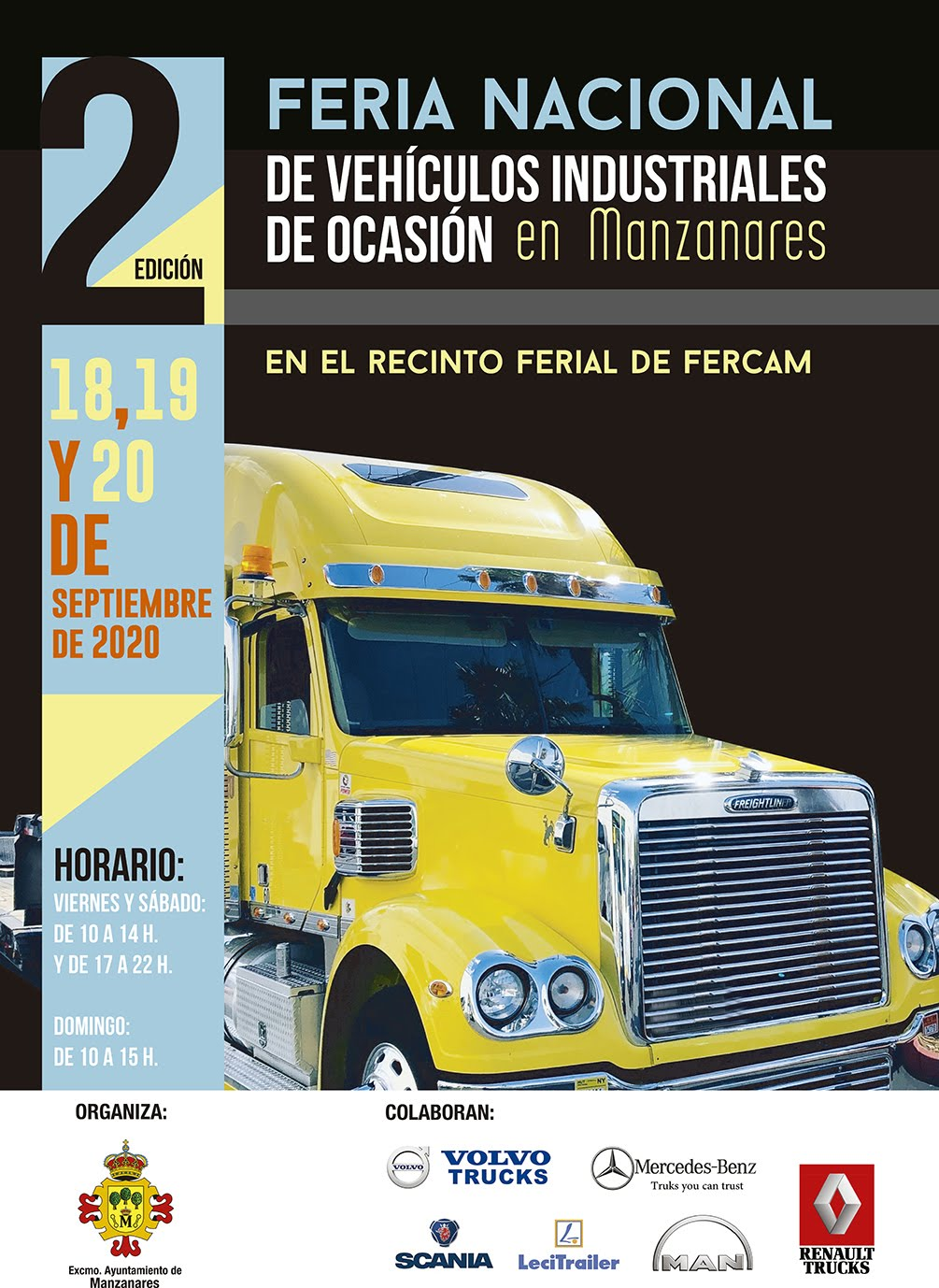 2ª Feria Nacional de Vehículos Industriales de Ocasión