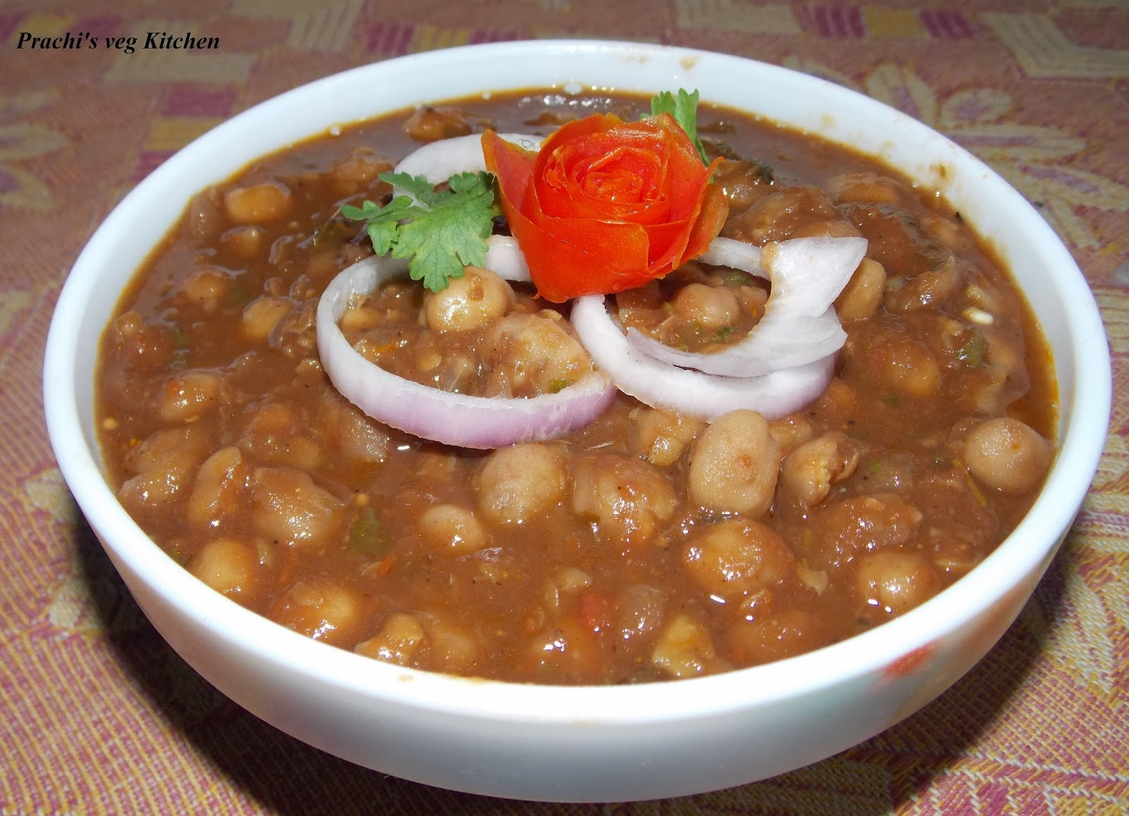 Prachi's veg kitchen: Chole recipe/Panjabi chole/ masala chole
