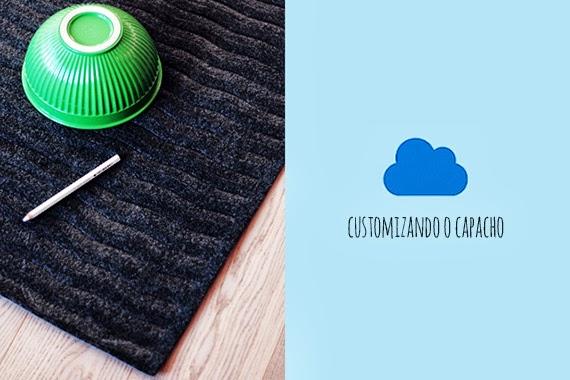 faça você mesmo - tapete de nuvem - customização