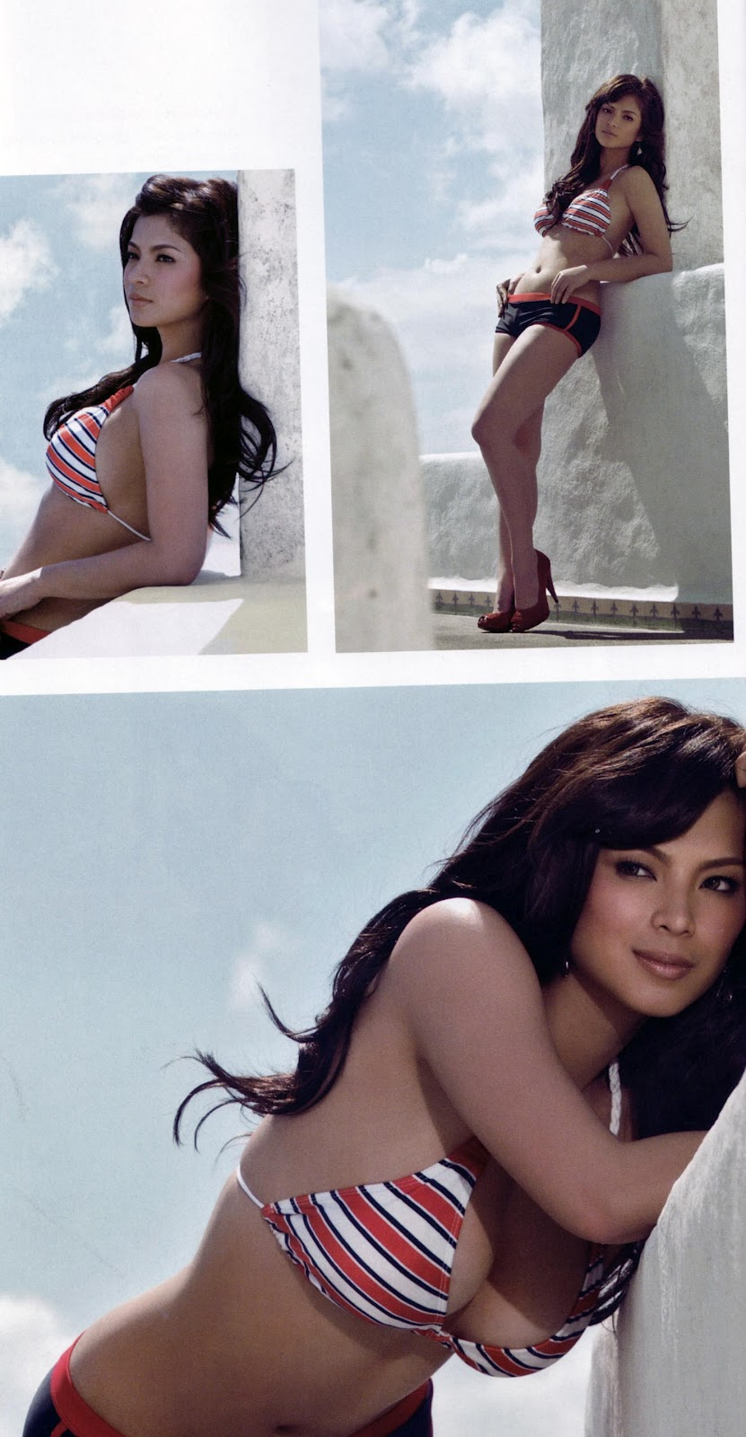 angel locsin sexy fhm bikini photos 08