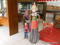 Suasana Museum Wayang & Artefak Sanggaluri Park