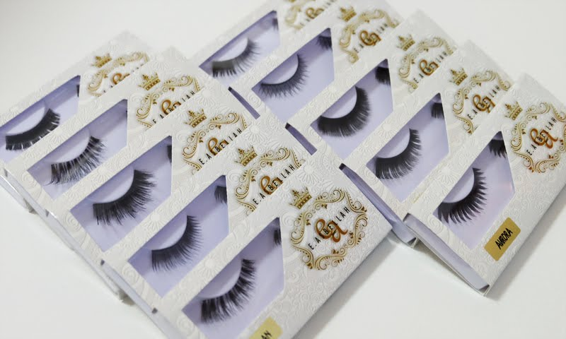 E. Asbellah False Eyelashes
