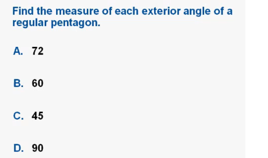 Amy Bunnell 39 S Math Portfolio 6 1 Angle Measures In Polygons