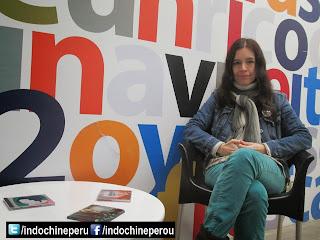 """Entrevista : Rossana Díaz Costa : """"Indochina no es un grupo desconocido"""""""