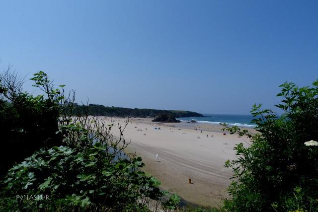 Playa de Peñarronda - Castropol - Asturias - Monumento Natural
