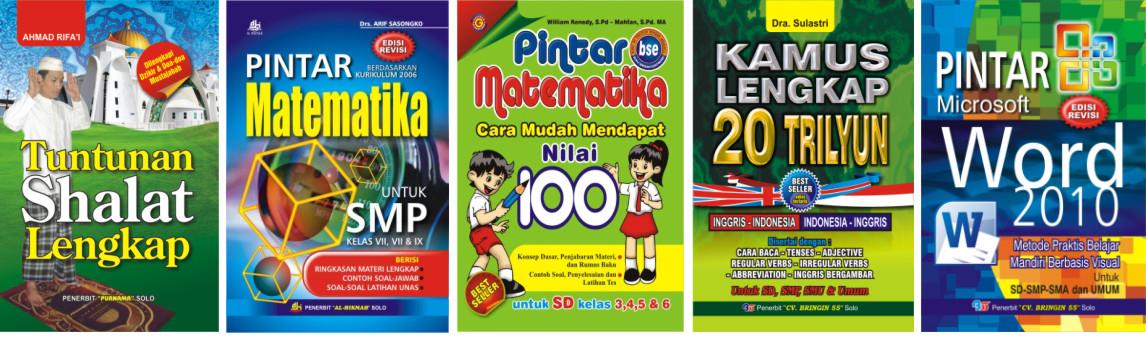 Buku-buku, Majalah, Company Profile, dll.