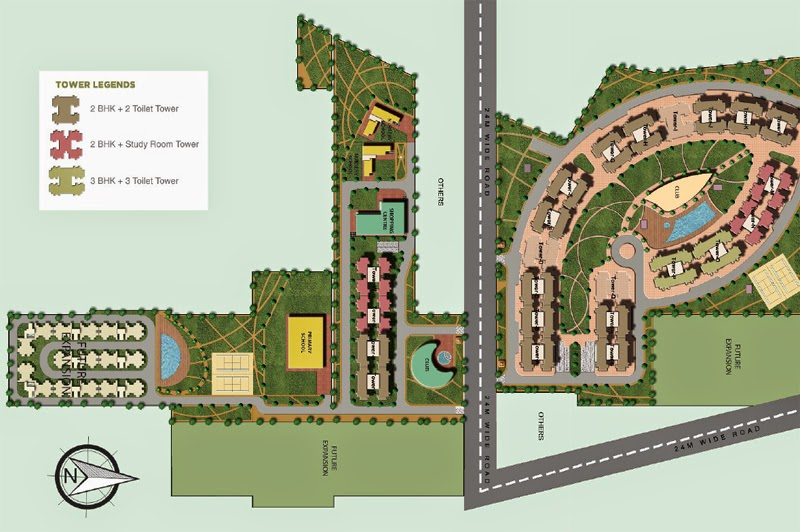 Hues_supertech_site_plan