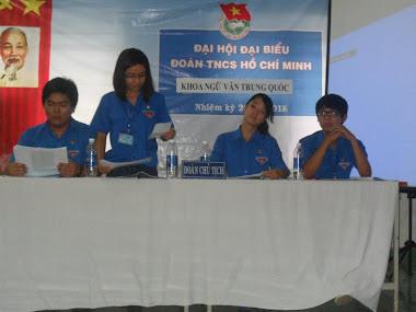 Đại hội đoàn khoa NVTQ 2012