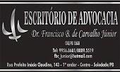 Acesse a página do Dr Francisco Júnior, e leia artigos que informam os leitores sobre seus direitos