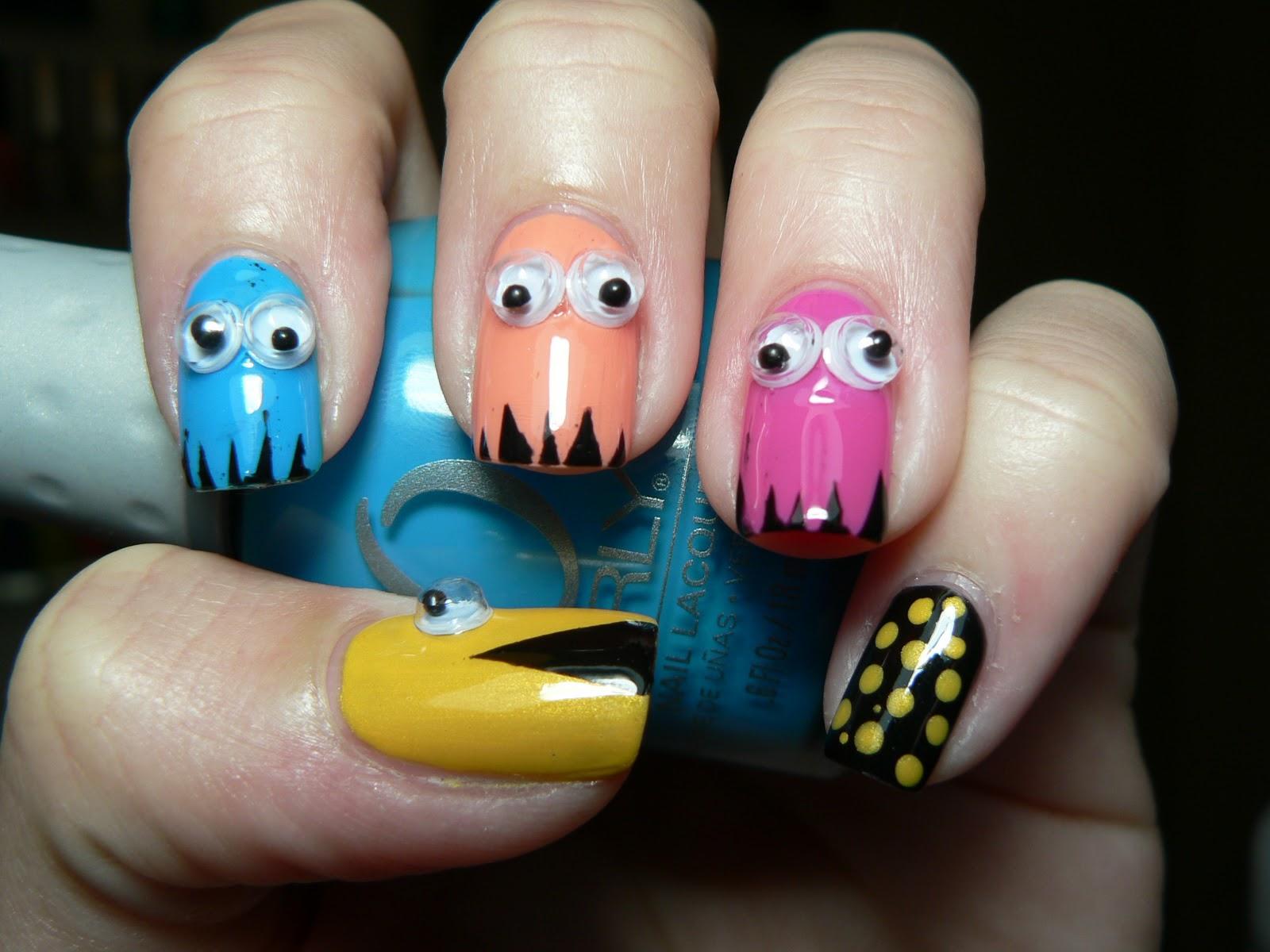 motiv på naglar