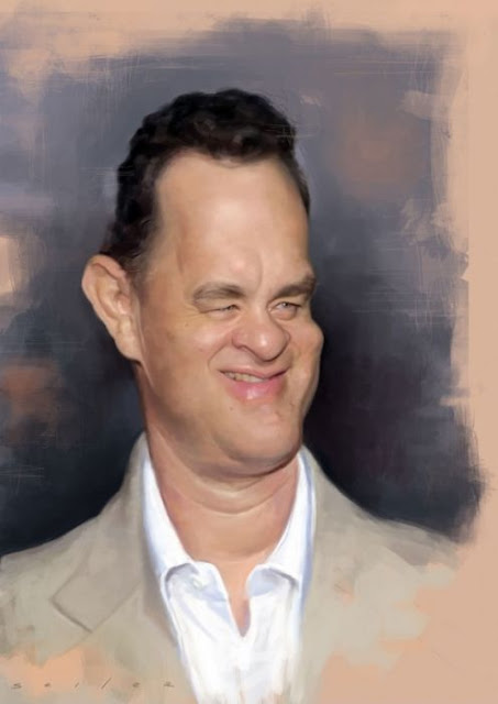 50 Funny Celebrities Caricatures by Jason Seiler