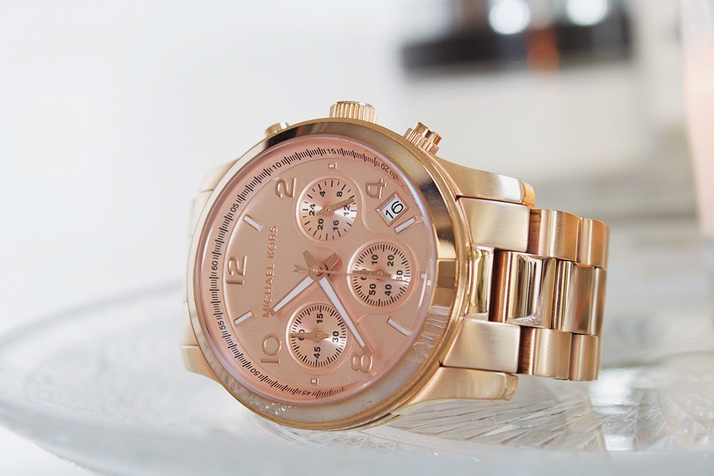 Michael Kors Rose Gold Watch a year on