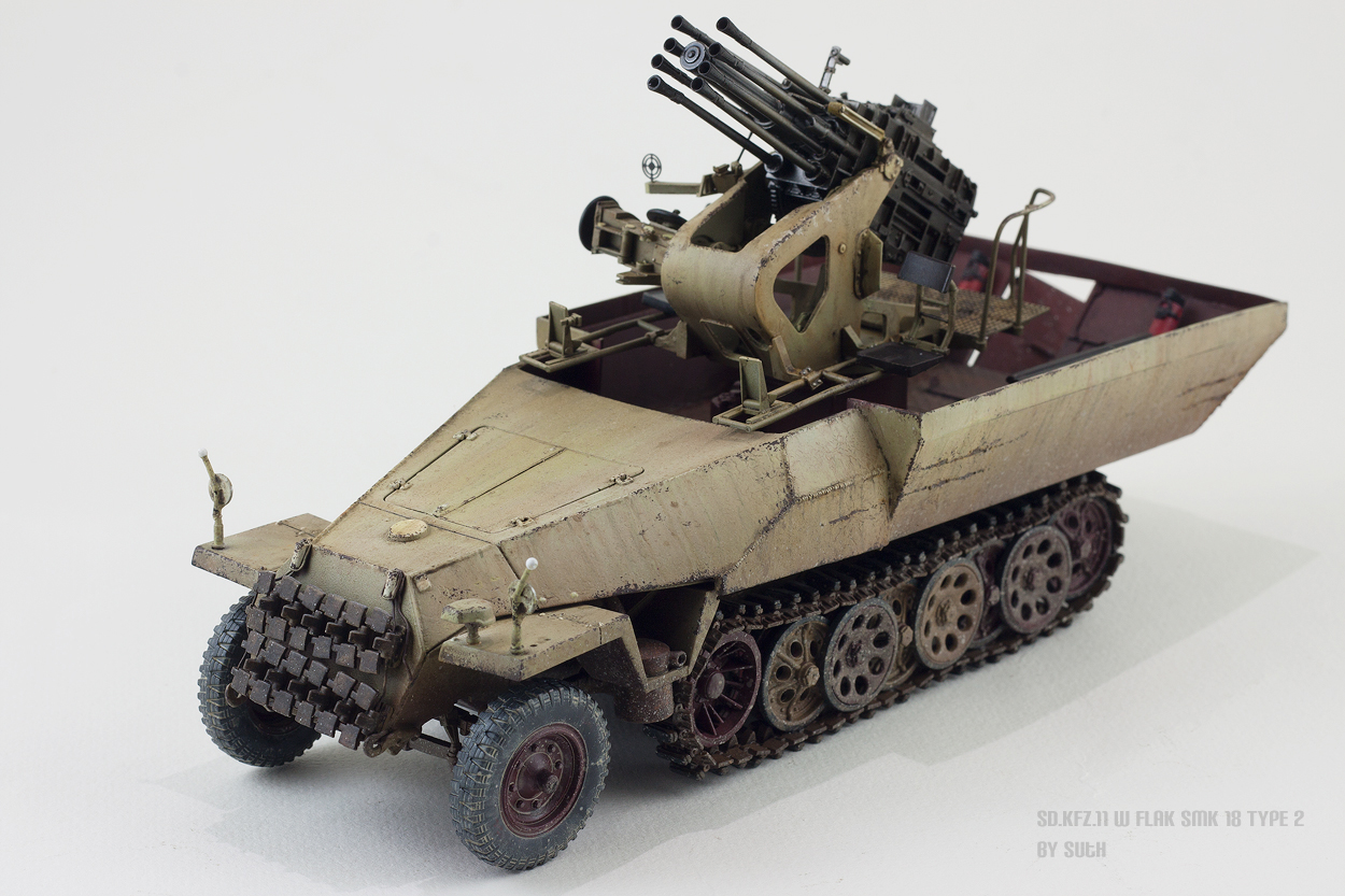 SD.KFZ 250/11 - Half-track with 2,8cm sPzB 41 heavy anti-tank rifle ...