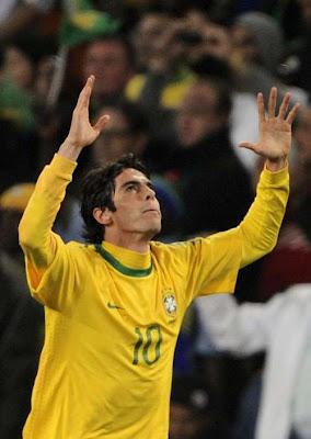 ¡Brasil recuperó a Kaká y él, a su selección!