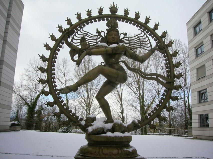 Idol Of Shiva At CERN