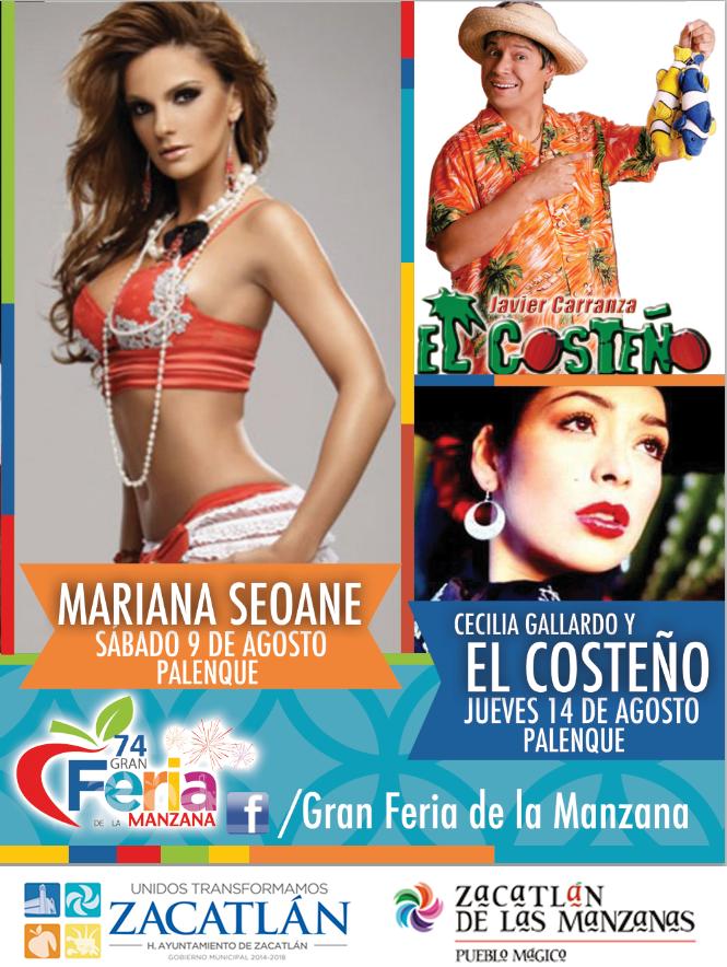 Artistas palenque feria zacatlán 2014
