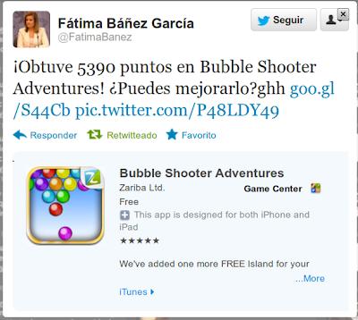 La ministra Báñez juega a las burbujas y lo publica en un tuit