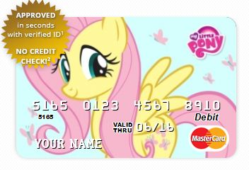 cardcom now has officially licensed prepaid debit cards with ponies on them at the moment only the oldschool vectors are available including season one - Cute Prepaid Debit Cards
