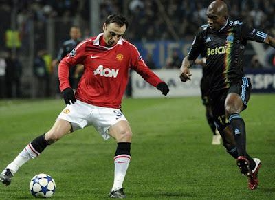 Champions League, Dimitar Berbatov Man Utd, Charles Kabore Marseille