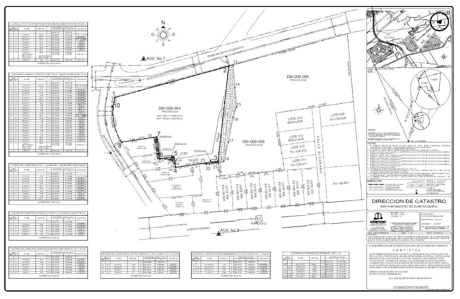 Urbanimex blog planos catastrales for Clasificacion de los planos arquitectonicos