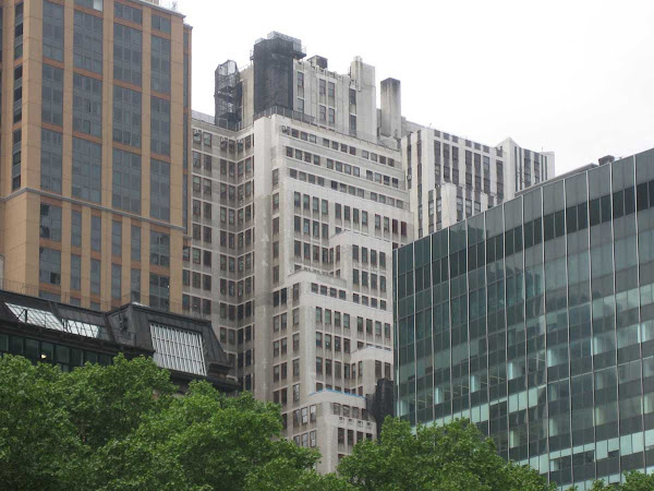 1400/1410 Broadway 2 - The buildings' 39th St. sides/backsides from Bryant Park.
