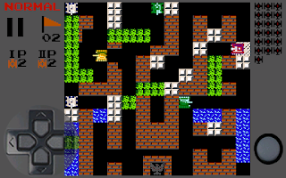 Screenshots of the Tanks 1990 for Android tablet, phone.