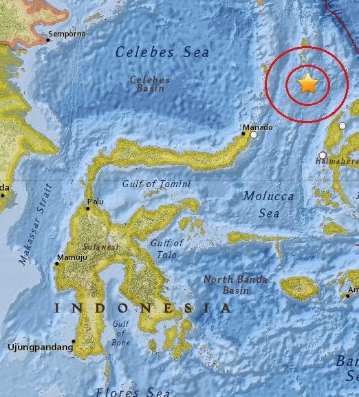 Magnitude 4.7 Earthquake of Tobelo, Indonesia 2015-04-07