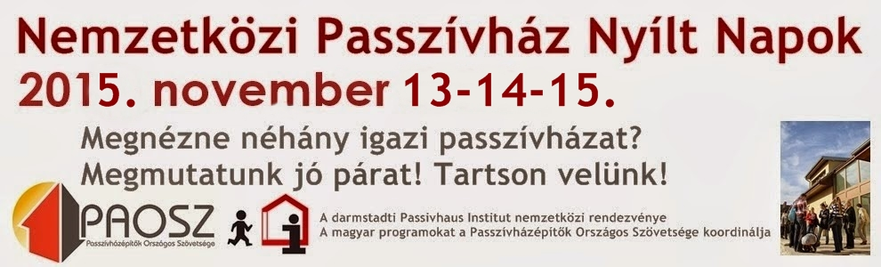 Nemzetközi Passzívház Nyílt Napok