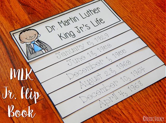 https://www.teacherspayteachers.com/Product/Martin-Luther-King-Jr-Flip-Book-1636745